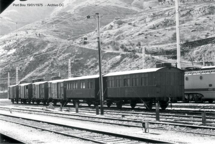 Port Bou Tren trabajos