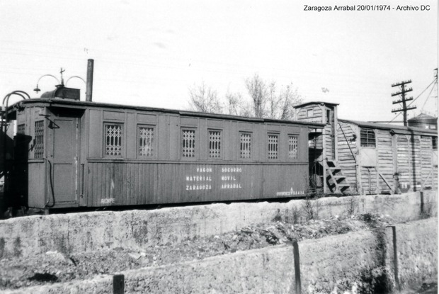 Zaragoza Arrabal Vagon Socorrorro MM